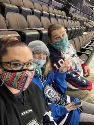 Mineard attended Jacksonville Icemen vs. Greenville Swamp Rabbits - ECHL on Mar 11th 2021 via VetTix