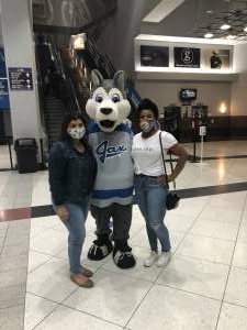 Jen S attended Jacksonville Icemen vs. Greenville Swamp Rabbits - ECHL on Mar 11th 2021 via VetTix