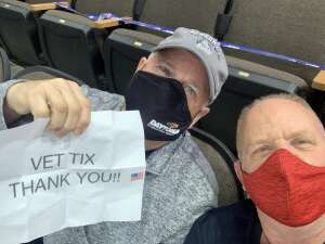 Kevin attended Jacksonville Icemen vs. Greenville Swamp Rabbits - ECHL on Mar 11th 2021 via VetTix