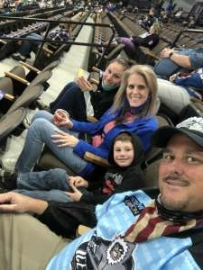 Robert attended Jacksonville Icemen vs. Greenville Swamp Rabbits - ECHL on Mar 11th 2021 via VetTix