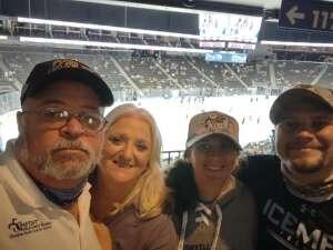 Tuck attended Jacksonville Icemen vs. Greenville Swamp Rabbits - ECHL on Mar 12th 2021 via VetTix