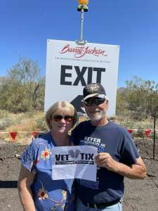 Barry Garlick attended Barrett-jackson 2021 Scottsdale Auction on Mar 20th 2021 via VetTix