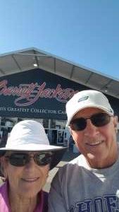 Rick and Louise Merring  attended Barrett-jackson 2021 Scottsdale Auction on Mar 20th 2021 via VetTix