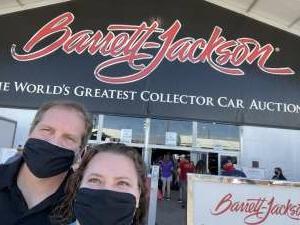 Edward attended Barrett-jackson 2021 Scottsdale Auction on Mar 20th 2021 via VetTix