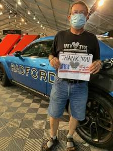 Matt NIesz attended Barrett-jackson 2021 Scottsdale Auction on Mar 21st 2021 via VetTix