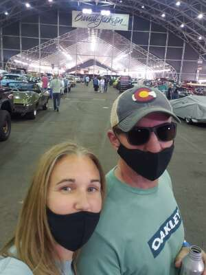 Jen attended Barrett-jackson 2021 Scottsdale Auction on Mar 21st 2021 via VetTix