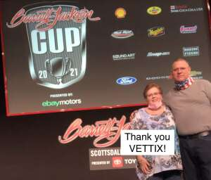 Joe B attended Barrett-jackson 2021 Scottsdale Auction on Mar 21st 2021 via VetTix