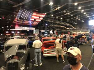 Brian attended Barrett-jackson 2021 Scottsdale Auction on Mar 21st 2021 via VetTix