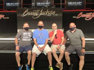 Ryan attended Barrett-jackson 2021 Scottsdale Auction on Mar 21st 2021 via VetTix