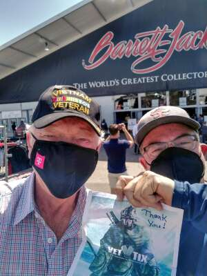 Lee attended Barrett-jackson 2021 Scottsdale Auction on Mar 21st 2021 via VetTix