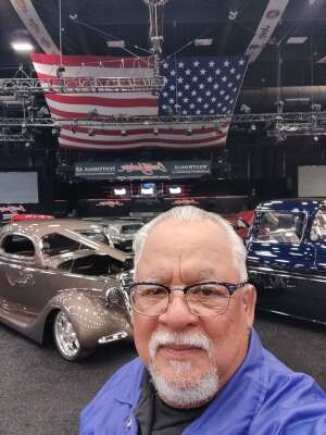 Bob attended Barrett-jackson 2021 Scottsdale Auction on Mar 21st 2021 via VetTix