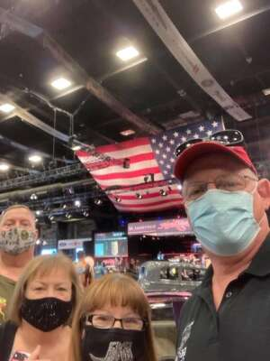 Steve Wolfe attended Barrett-jackson 2021 Scottsdale Auction on Mar 22nd 2021 via VetTix