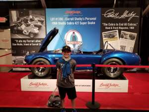 Mike attended Barrett-jackson 2021 Scottsdale Auction on Mar 22nd 2021 via VetTix