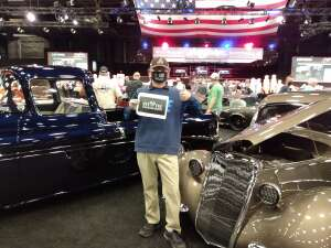 William attended Barrett-jackson 2021 Scottsdale Auction on Mar 22nd 2021 via VetTix