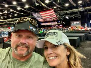 Jimbo attended Barrett-jackson 2021 Scottsdale Auction on Mar 22nd 2021 via VetTix