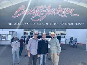 Azhkr attended Barrett-jackson 2021 Scottsdale Auction on Mar 22nd 2021 via VetTix