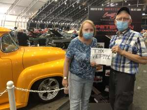 Terry attended Barrett-jackson 2021 Scottsdale Auction on Mar 22nd 2021 via VetTix