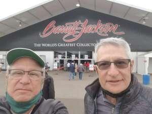Richard attended Barrett-jackson 2021 Scottsdale Auction on Mar 23rd 2021 via VetTix