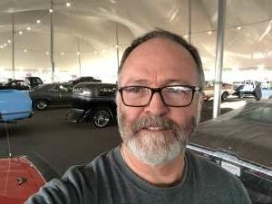 Gary attended Barrett-jackson 2021 Scottsdale Auction on Mar 23rd 2021 via VetTix