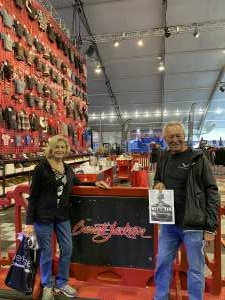 Jim attended Barrett-jackson 2021 Scottsdale Auction on Mar 23rd 2021 via VetTix