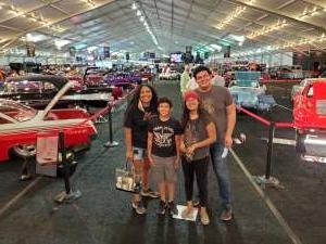 Christine  attended Barrett-jackson 2021 Scottsdale Auction on Mar 23rd 2021 via VetTix