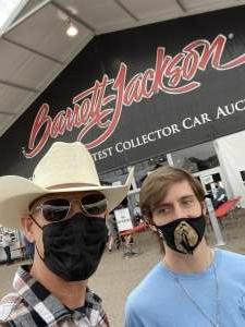 Ray attended Barrett-jackson 2021 Scottsdale Auction on Mar 23rd 2021 via VetTix