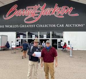 Azhkr attended Barrett-jackson 2021 Scottsdale Auction on Mar 23rd 2021 via VetTix