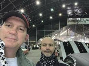 Jason attended Barrett-jackson 2021 Scottsdale Auction on Mar 23rd 2021 via VetTix