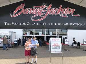 Terry attended Barrett-jackson 2021 Scottsdale Auction on Mar 24th 2021 via VetTix