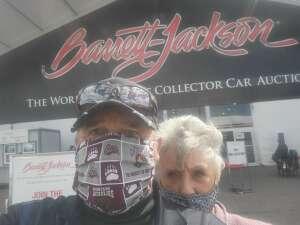 Mike attended Barrett-jackson 2021 Scottsdale Auction on Mar 24th 2021 via VetTix