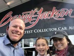 Grant attended Barrett-jackson 2021 Scottsdale Auction on Mar 24th 2021 via VetTix
