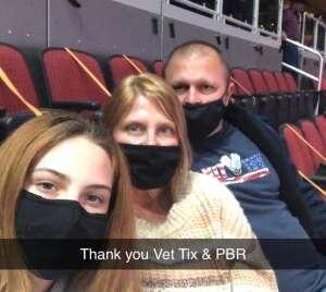 Justin attended PBR Unleash the Beast on Mar 12th 2021 via VetTix