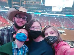Jessica  attended PBR Unleash the Beast on Mar 14th 2021 via VetTix