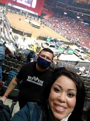 Curtis A. attended PBR Unleash the Beast on Mar 14th 2021 via VetTix