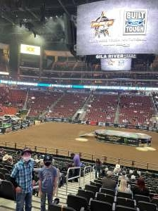 Juck attended PBR Unleash the Beast on Mar 14th 2021 via VetTix