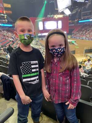 Mary attended PBR Unleash the Beast on Mar 14th 2021 via VetTix