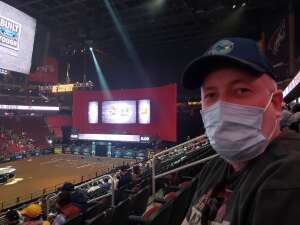 Dennis attended PBR Unleash the Beast on Mar 14th 2021 via VetTix
