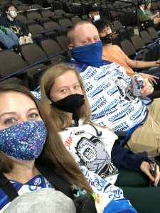 Alex attended Jacksonville Icemen vs. Orlando Solar Bears - ECHL on Mar 17th 2021 via VetTix