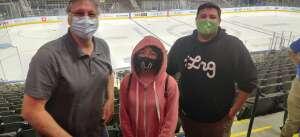 George N attended Jacksonville Icemen vs. Orlando Solar Bears - ECHL on Mar 17th 2021 via VetTix
