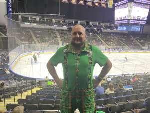 Mike attended Jacksonville Icemen vs. Orlando Solar Bears - ECHL on Mar 17th 2021 via VetTix