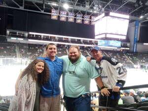 Josh  attended Jacksonville Icemen vs. Orlando Solar Bears - ECHL on Mar 17th 2021 via VetTix