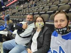 Paul attended Jacksonville Icemen vs. Orlando Solar Bears - ECHL on Mar 21st 2021 via VetTix