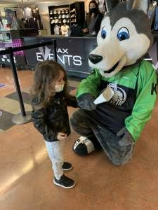 Héctor López  attended Jacksonville Icemen vs. Orlando Solar Bears - ECHL on Mar 21st 2021 via VetTix