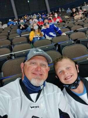 Tony attended Jacksonville Icemen vs. Orlando Solar Bears - ECHL on Mar 21st 2021 via VetTix