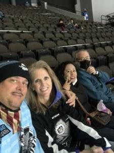 Robert attended Jacksonville Icemen vs. Orlando Solar Bears - ECHL on Mar 21st 2021 via VetTix