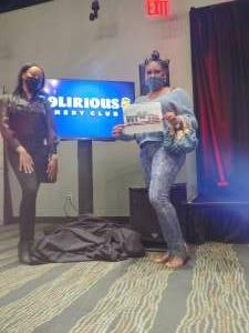 Shimira attended Delirious Comedy Club on Mar 19th 2021 via VetTix