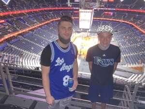 Douglas baker attended Toronto Raptors vs. Phoenix Suns - NBA on Mar 26th 2021 via VetTix
