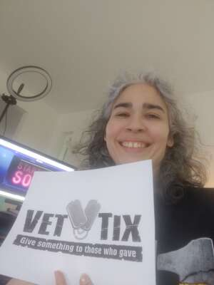 DinahC attended Working the Musical on May 2nd 2021 via VetTix
