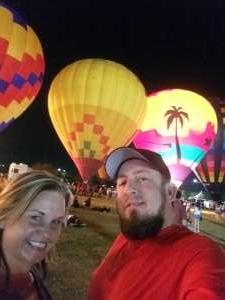 Curtis Orvis attended Arizona Balloon Classic on Apr 30th 2021 via VetTix