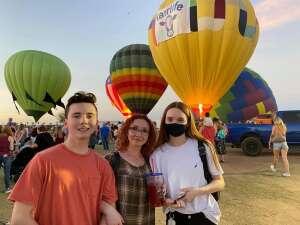 Deacon  attended Arizona Balloon Classic on Apr 30th 2021 via VetTix